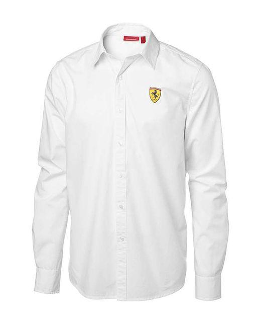Ferrari   Мужская Рубашка
