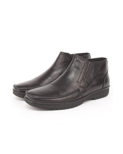 Dino Rossi | Мужские Чёрные Зимние Ботинки
