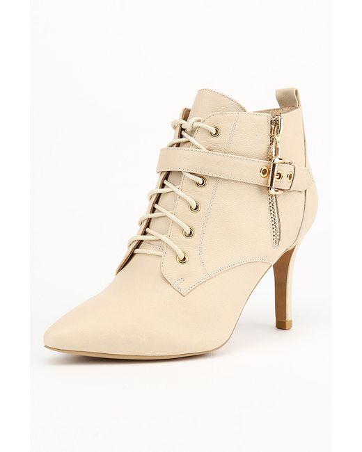 Gerzedo | Женские Бежевые Ботинки