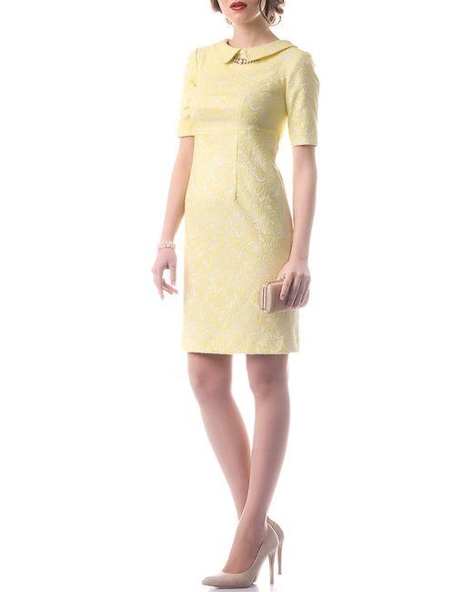 OKS | Женское Жёлтое Платье