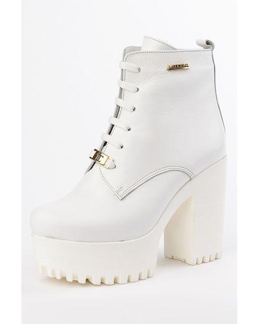 Lottini   Женские Белые Ботинки
