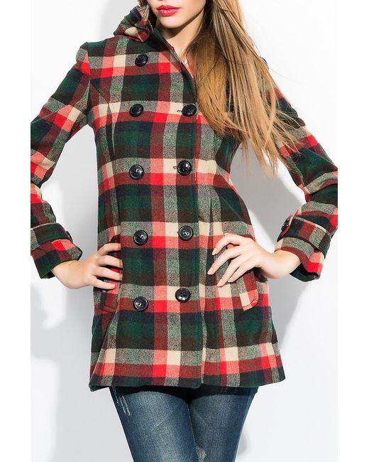 Ironi | Женское Многоцветное Пальто