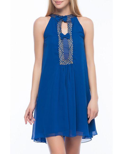 Ironi | Женское Синее Платье