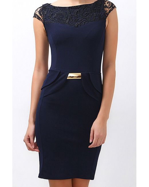 Boutiquen   Женское Синее Платье