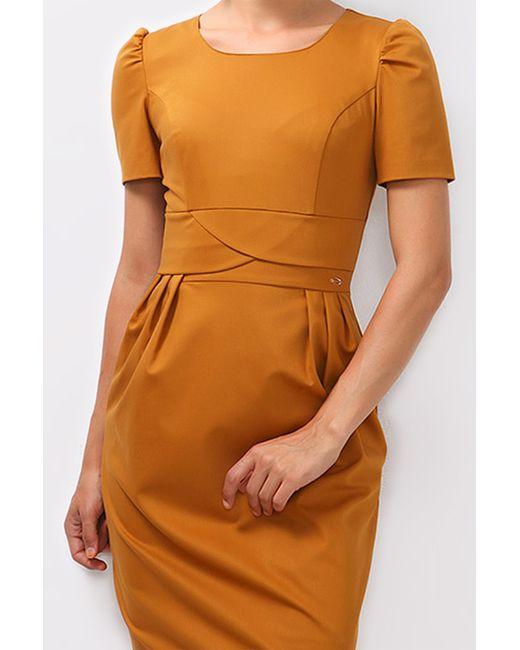 Boutiquen   Женское Оранжевое Платье