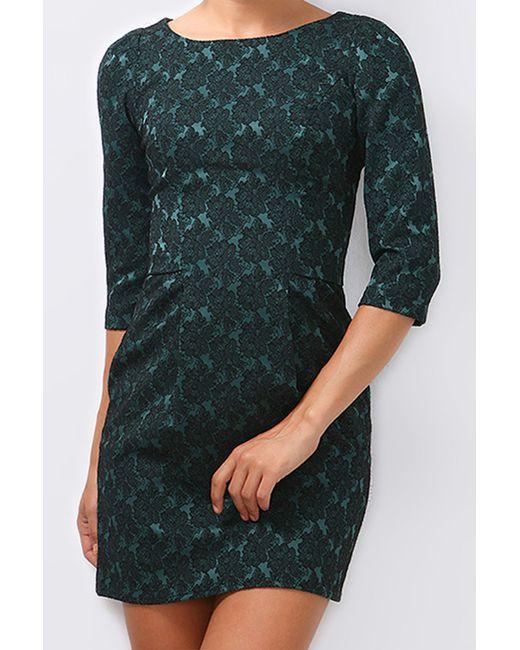 Boutiquen   Женское Зелёное Платье