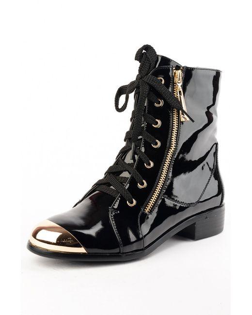 Vita Ricca | Женские Чёрные Ботинки
