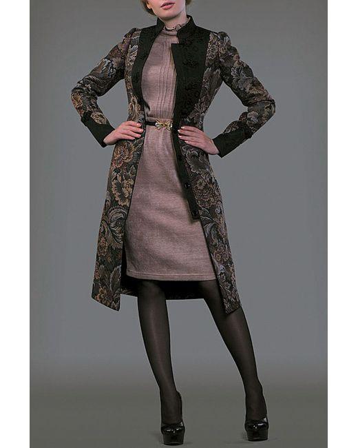 Ksenia Knyazeva   Женское Многоцветное Пальто