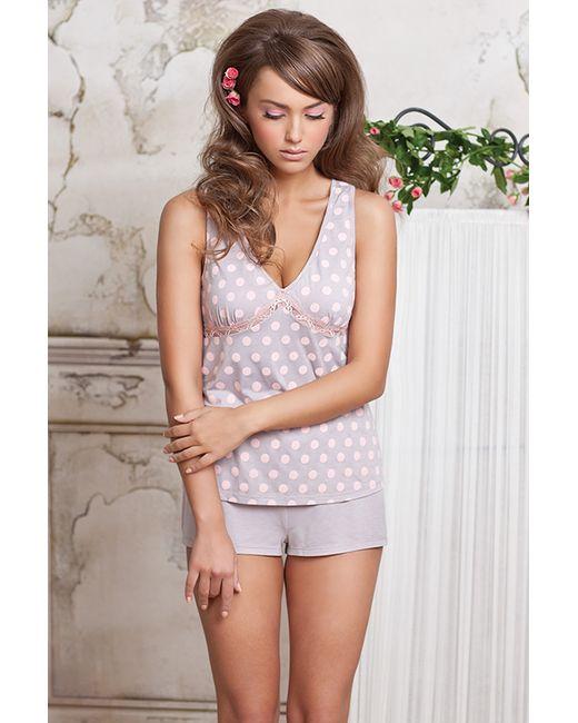 Rose&Petal Homewear | Женские Розовые Шорты Домашние