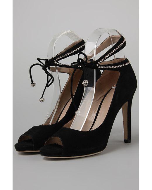 Chloe | Женские Чёрные Туфли
