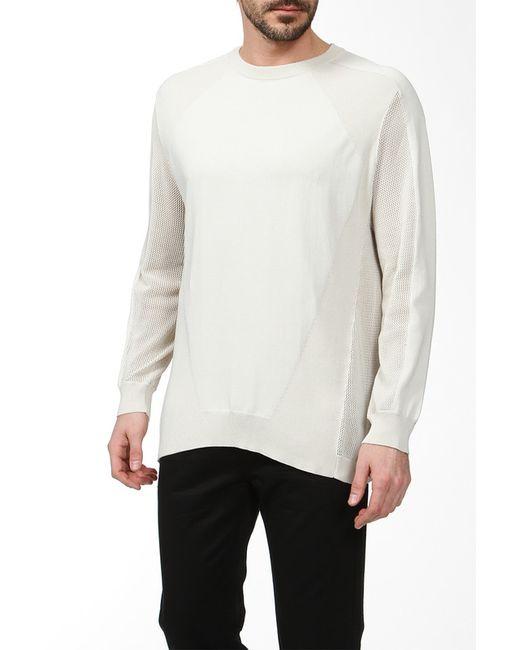 Alexander Wang | Мужской Белый Пуловер Вязаный
