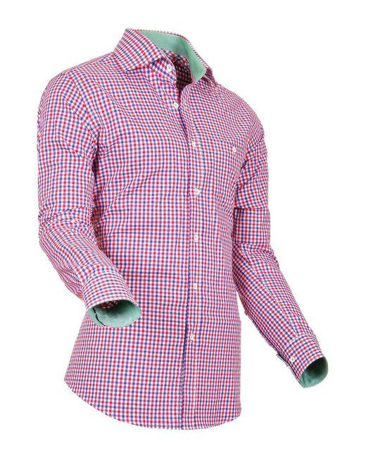 Pontto | Мужская Синяя Рубашка