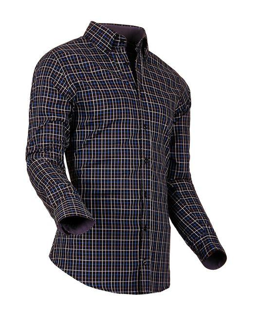 Pontto | Мужская Многоцветная Рубашка