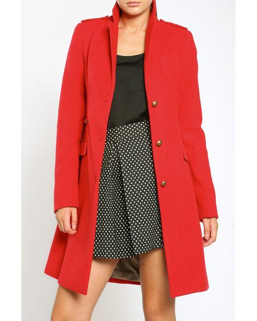 Collezione Di Ines | Женское Красное Пальто