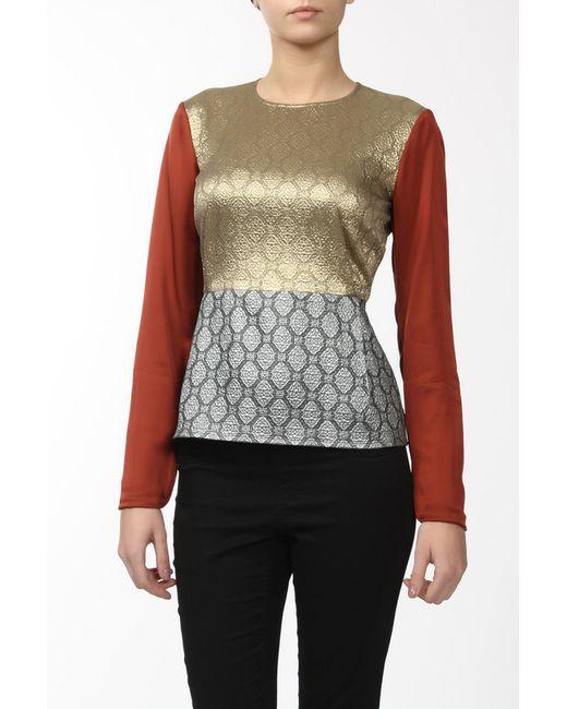 Stella Mccartney   Женская Многоцветная Блуза