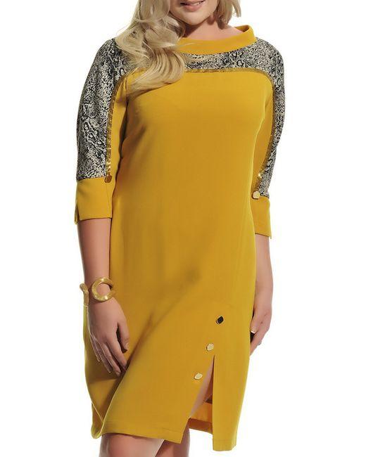 Ludomara fashion | Женское Жёлтое Платье