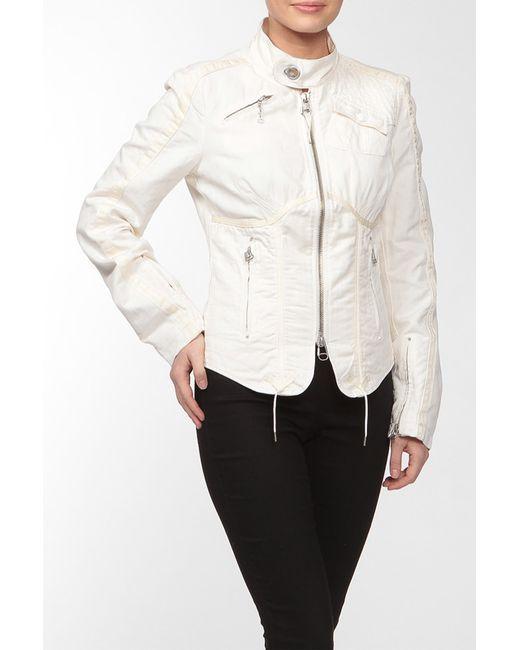 Diesel | Женская Белая Куртка