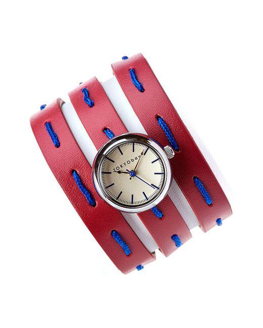 Tokyobay   Женские Красные Часы Наручные