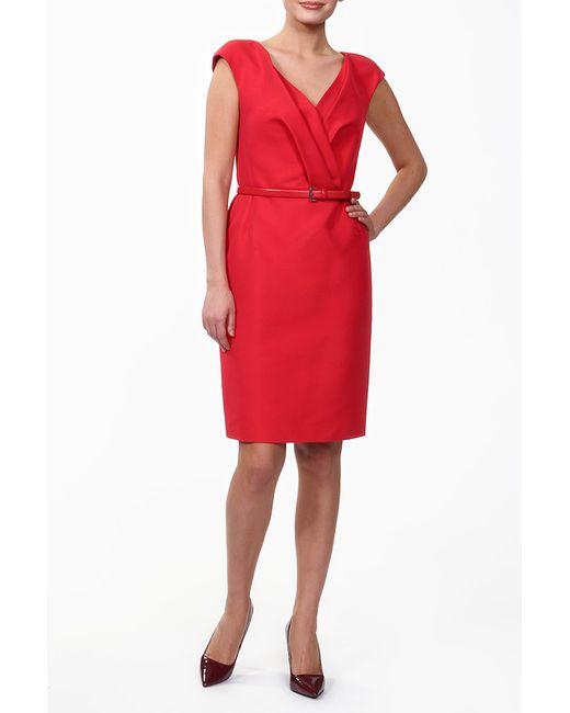 Dior   Женское Красное Платье