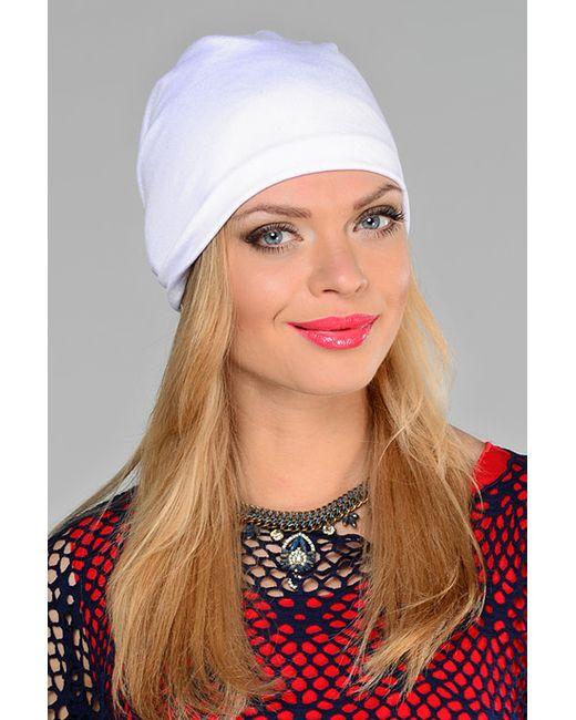 Lak Miss   Женская Белая Шапка