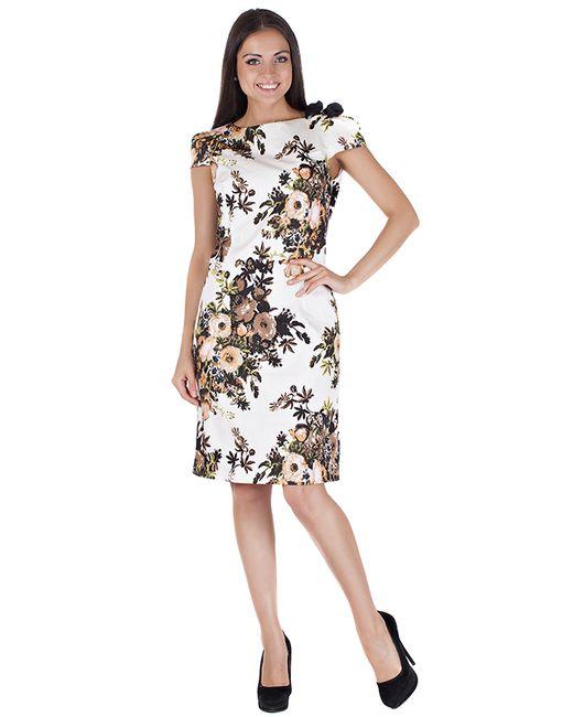 Mannon | Женское Бежевое Платье