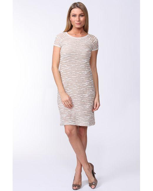 Carla B | Женское Бежевое Платье