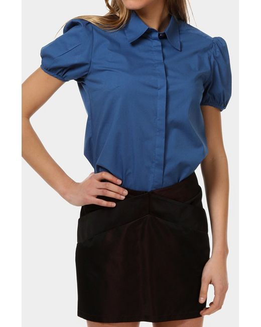Just Cavalli | Женская Синяя Блузка