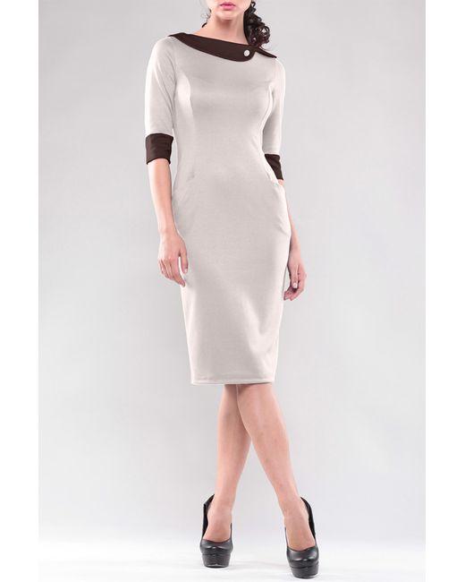 Maurini   Женское Коричневое Платье