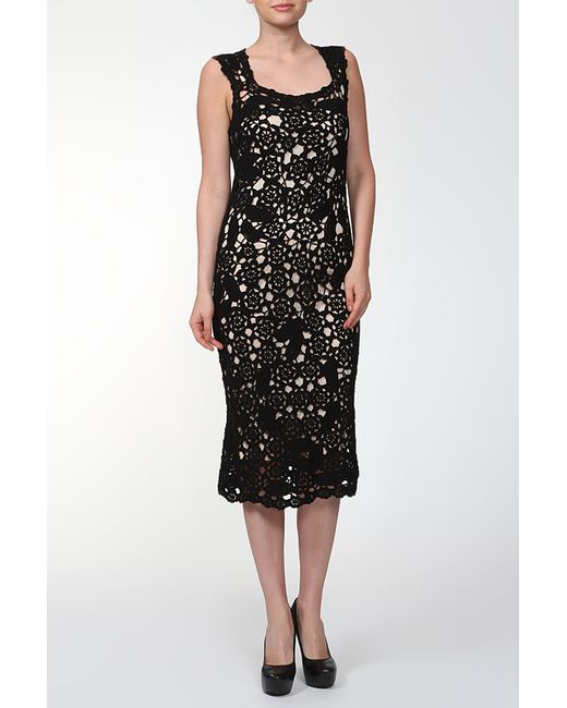 Marc Jacobs | Женское Чёрное Платье 2 Предмета