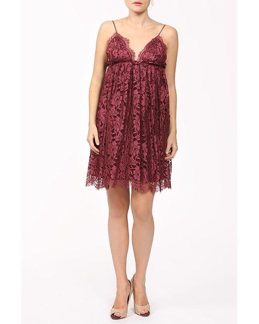 Dolce & Gabbana | Женское Красное Платье