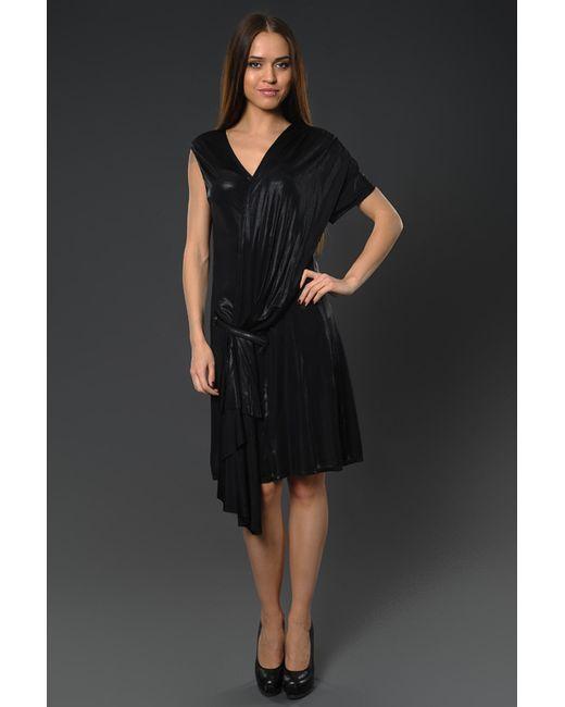 Mcq Alexander Mcqueen | Женское Чёрное Платье