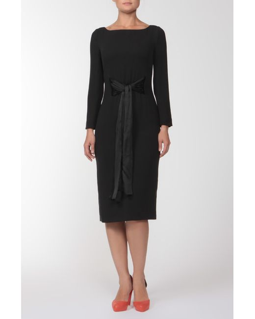 Giorgio Armani | Женское Чёрное Платье