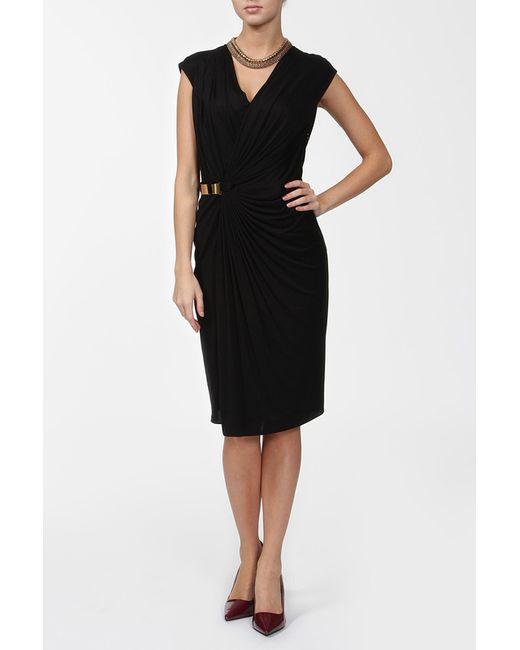 Strenesse | Женское Чёрное Платье