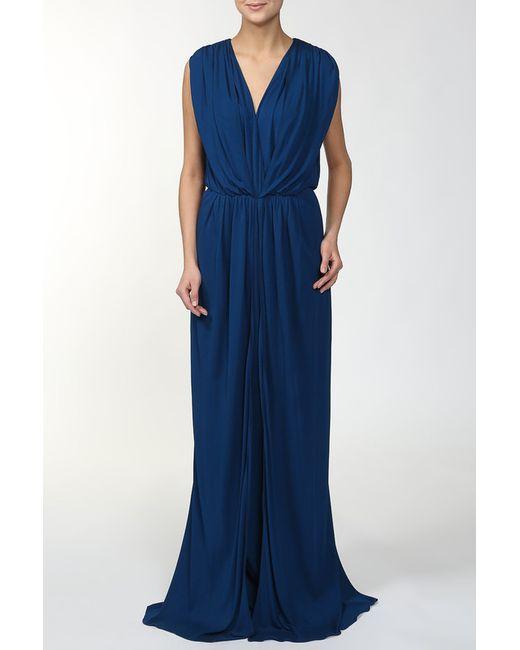 Vionnet | Женское Синее Платье