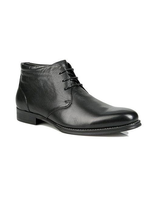 Grossi | Мужские Чёрные Ботинки