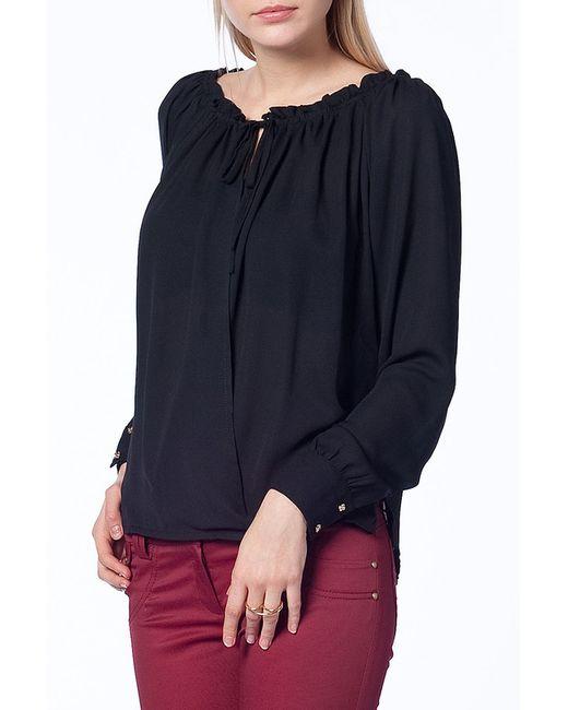 Duse   Женская Чёрная Блуза