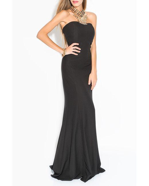 Ironi | Женское Чёрное Платье