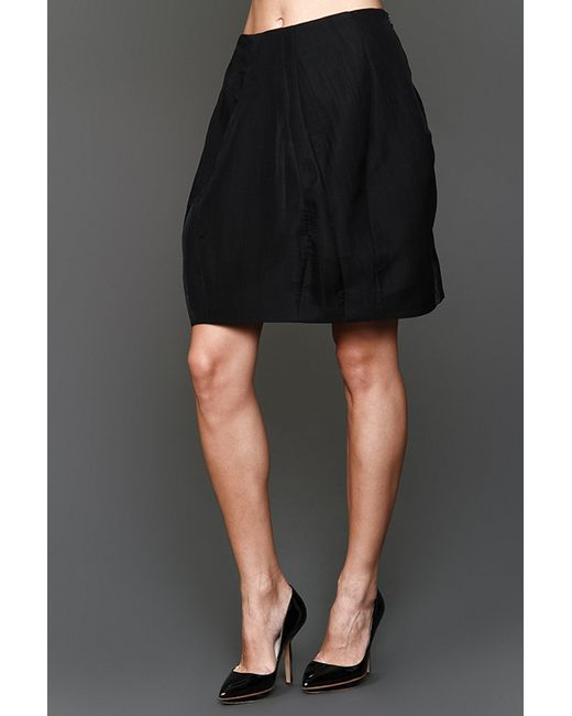 Donna Karan | Женская Чёрная Юбка