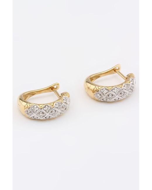 Magic Diamonds   Женские Жёлтые Серьги
