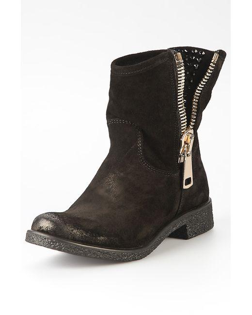 Alberto Venturini | Женские Чёрные Ботинки
