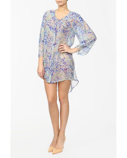 Saloni   Женское Многоцветное Платье