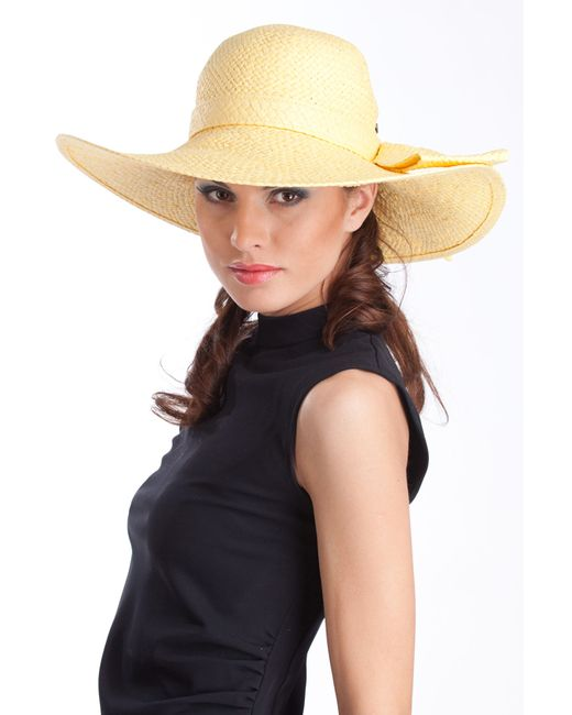 Tonak   Женская Жёлтая Шляпа