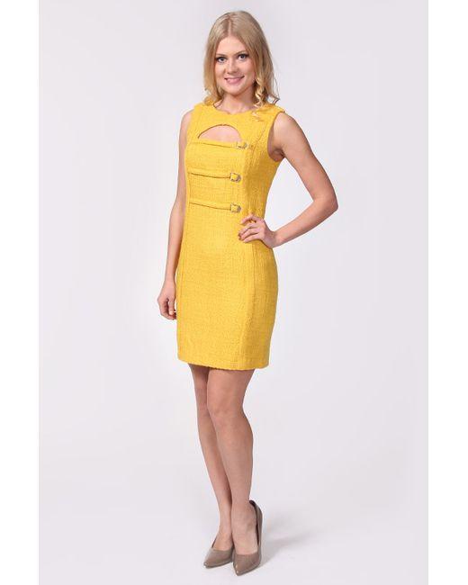 Galliano | Женское Жёлтое Платье