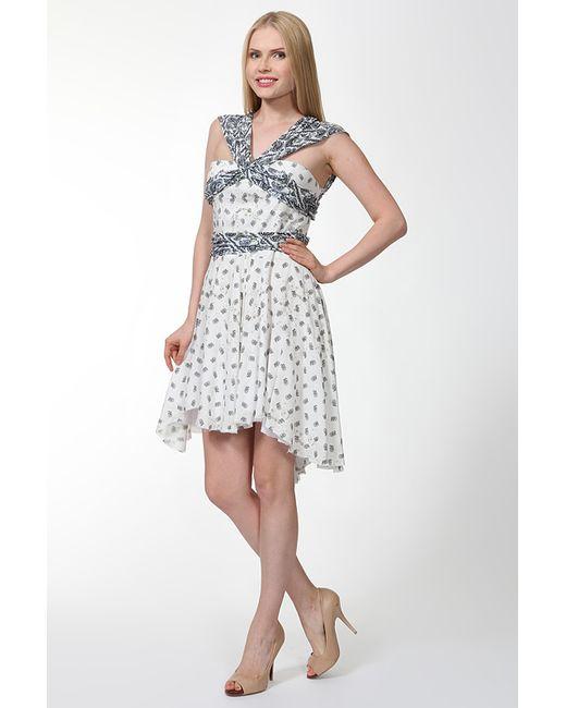 Pierre Balmain | Женское Белое Платье
