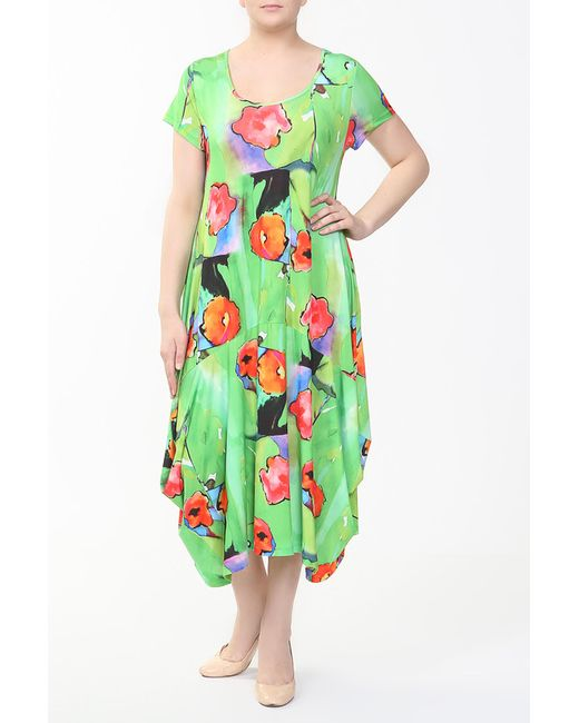 LAZOLINA | Женское Зелёное Платье