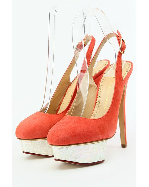 Charlotte Olympia | Женские Красные Туфли