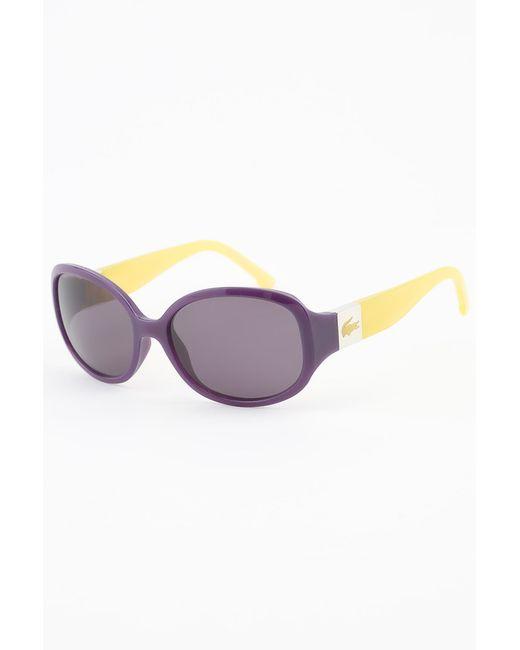 Lacoste | Женские Жёлтые Очки Солнцезащитные