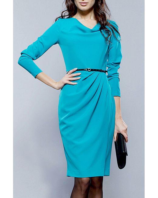 BGL   Женское Голубое Платье