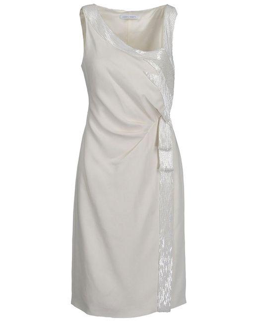 Alberta Ferretti | Женское Бежевое Платье