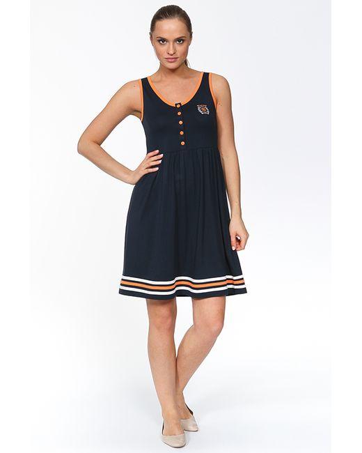 Relax Mode | Женское Синее Платье В Морском Стиле